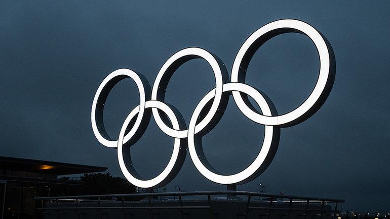 Олимпийские кольца в Токио. Фото Getty Images
