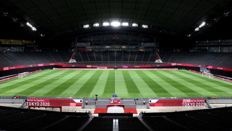 Футбольный стадион вСаппоро. Фото Getty Images