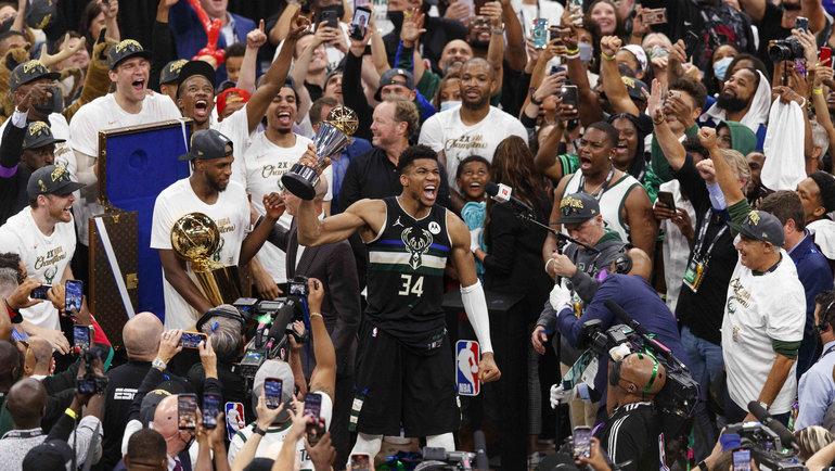 «Милуоки» становится чемпионом НБА впервые за50 лет. Фото USA Today Sports
