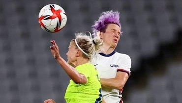 Швеция разгромила США вматче женского футбольного олимпийского турнира