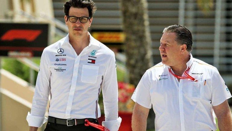 Тото Вольфф (слева). Фото Autosport