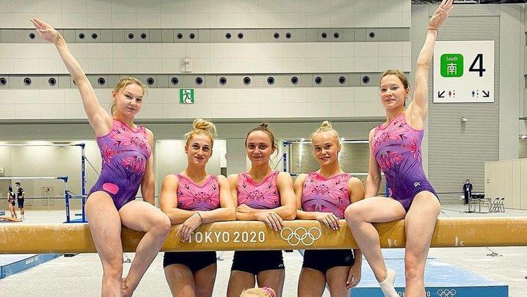 Сборная.Сборная России поспортивной гимнастике.