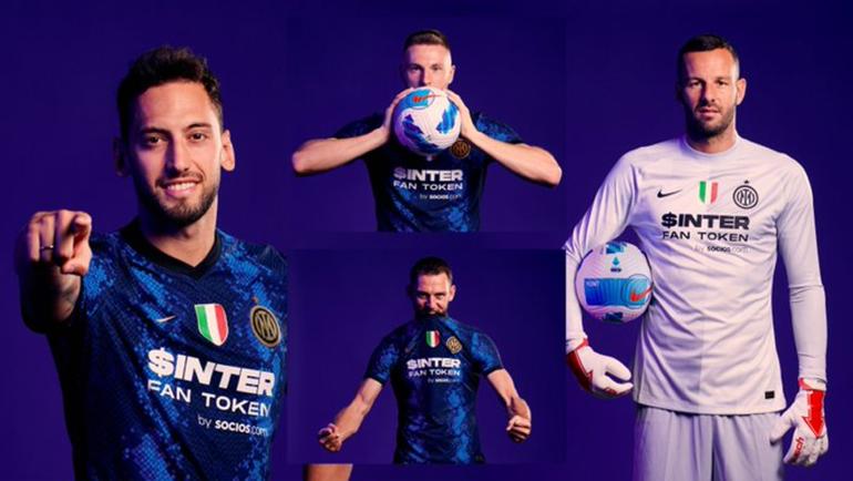 «Интер» впервые за26 лет сменил титульного спонсора. Фото ФК «Интер»
