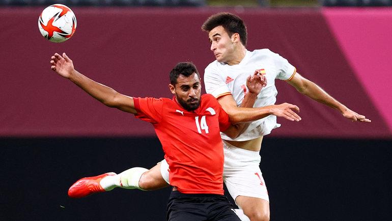 22июля. Саппоро. Египет— Испания— 0:0. Фото Reuters