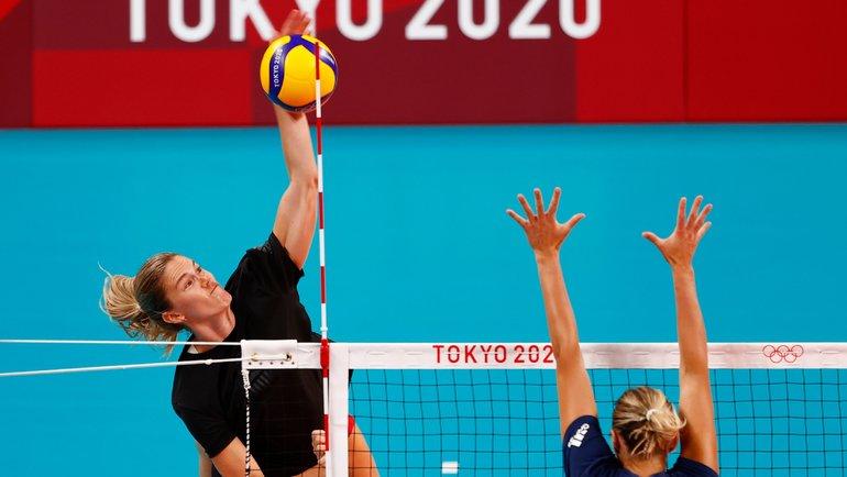 Волейболистки. Фото Reuters