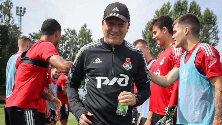 Марко Николич. Фото ФК «Локомотив»