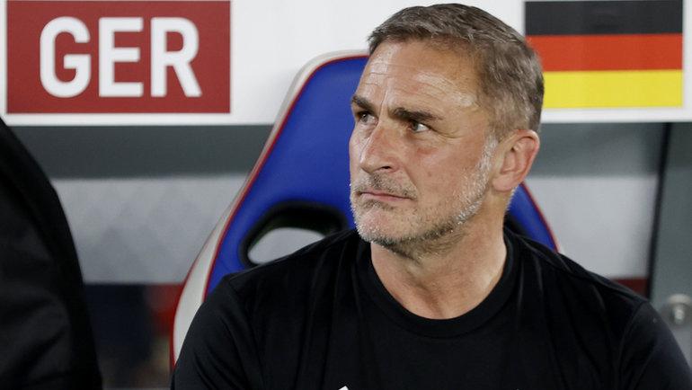 Главный тренер немецкой команды Штефан Кунц. Фото Reuters