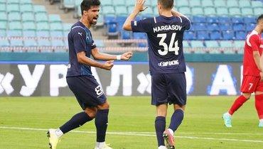 «Сочи»— «Кешлы»: Родригао стал автором первого гола российских клубов вЛиге конференций