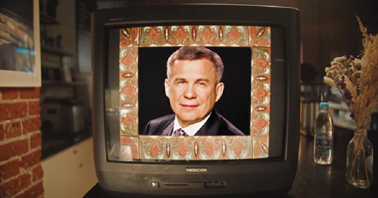 Кадр из нового клипа «Рубина».
