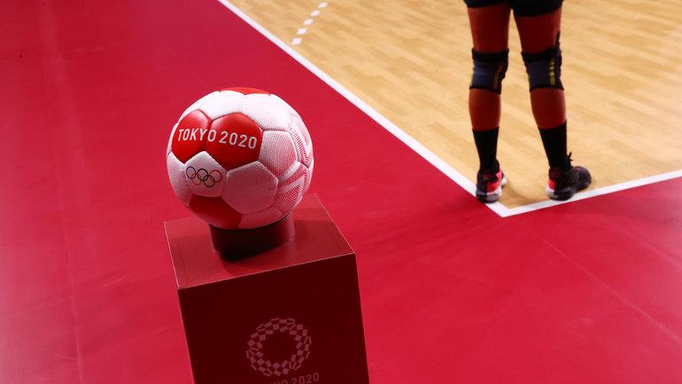 Турнир погандболу наОлимпиаде вТокио. Фото Reuters