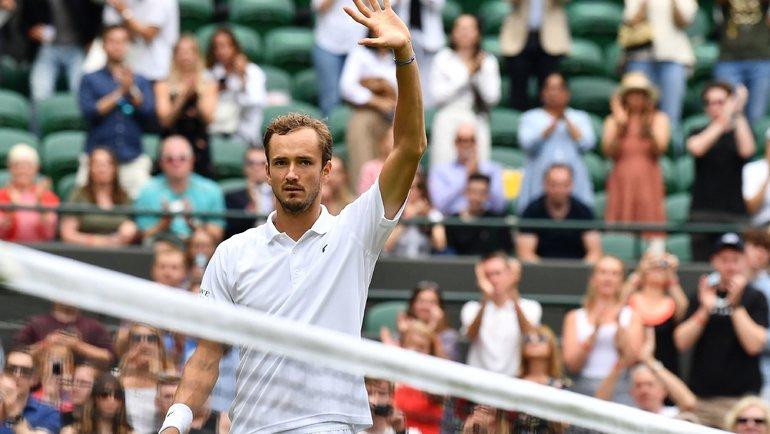Даниил Медведев. Фото AFP