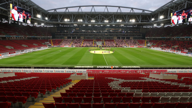 Стадион «Открытие Арена». Фото Александр Федоров, «СЭ» / Canon EOS-1D X Mark II