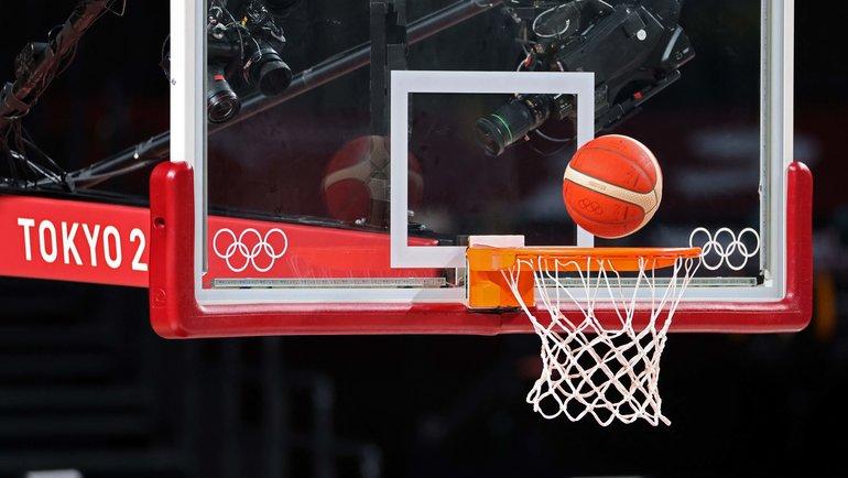 Баскетбольный турнир наОлимпиаде вТокио. Фото AFP