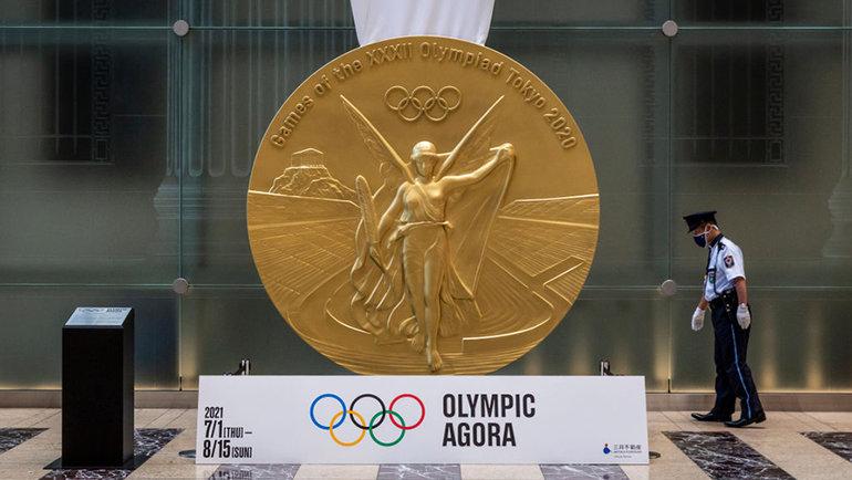 Золотая медальОИ вТокио. Фото Getty Images
