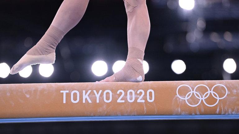 Турнир поспортивной гимнастике наОлимпиаде вТокио. Фото Reuters