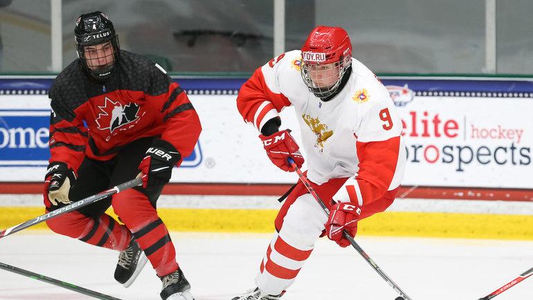 Федор Свечков выбран «Нэшвиллом» под 19-м номером драфта НХЛ-2021. Фото IIHF