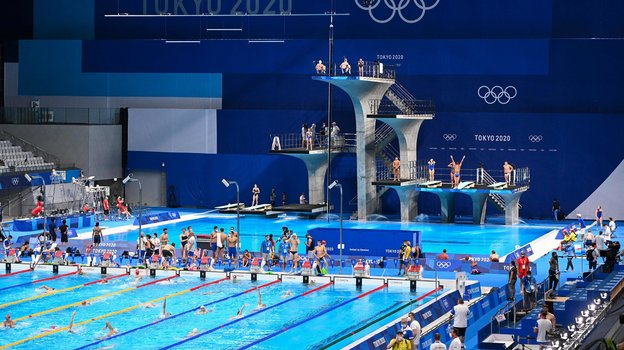 Олимпийский бассейн. Фото AFP