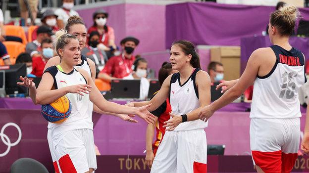 Российские баскетболистки победили Китай. Фото Getty Images
