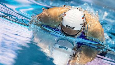 Суркова иЧимрова вышли вполуфинал надистанции 100 метров баттерфляем
