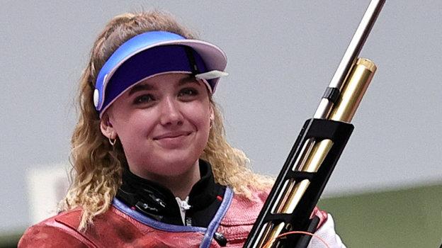 Анастасия Галашина завоевала первую медаль для России наИграх вТокио.