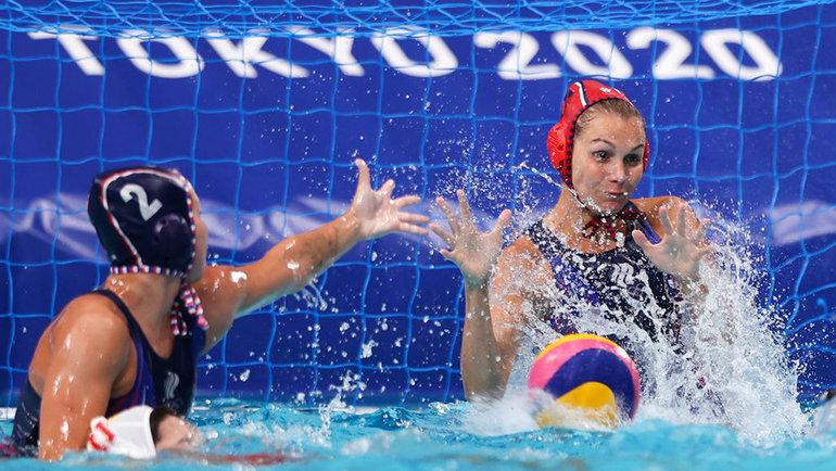 Россиянки вовремя матча против сборной Китая. Фото Getty Images