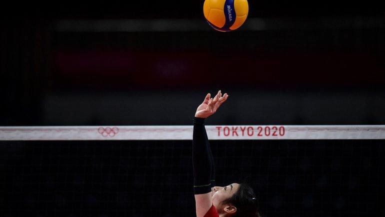 Волейбольный турнир наОлимпиаде вТокио. Фото AFP