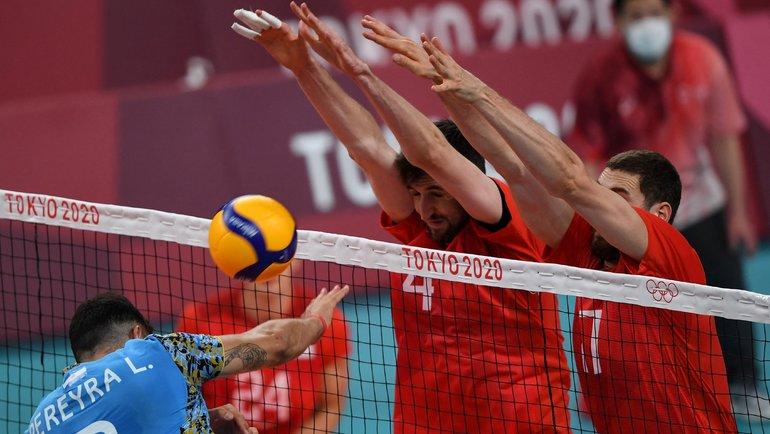 Россия начала Игры спобеды над Аргентиной. Фото AFP