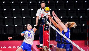 Женская сборная России поволейболу встартовом матче Олимпиады проиграла Италии.