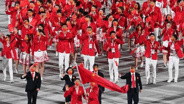 Сборная Китая. Фото AFP