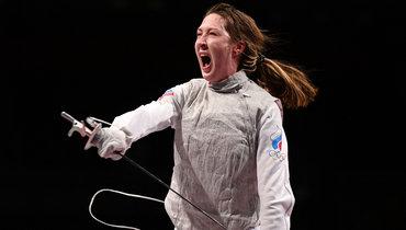 Российская рапиристка Коробейникова проиграла вполуфинале Олимпиады вТокио