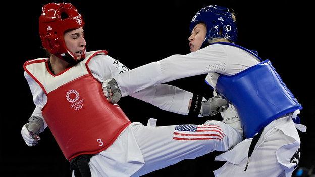 Олимпиада вТокио, тхэквондо: Татьяна Минина выиграла серебро
