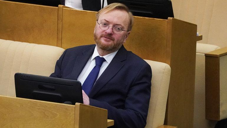 Виталий Милонов. Фото Павел Бедняков, «Известия»