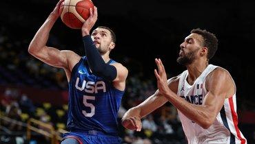 Баскетболисты сборной США потерпели первое поражение наОлимпийских играх с2004 года