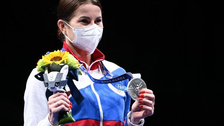 Инна Дериглазова. Фото AFP
