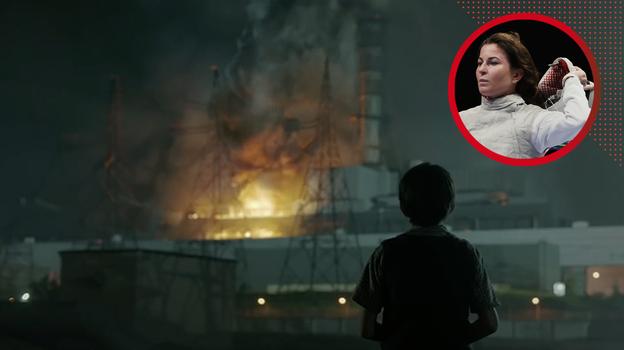 Кадр изфильма «Чернобыль».