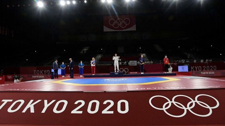 Олимпийский турнир потхэквондо вТокио. Фото AFP