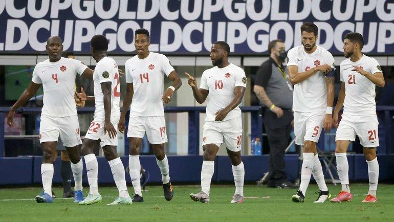 26июля. 1/4 финала Золотого кубка КОНКАКАФ. Коста-Рика— Канада— 0:2. Фото AFP