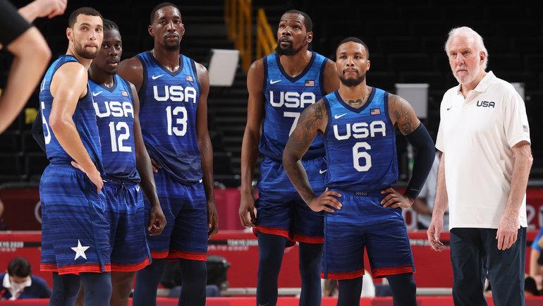 Баскетболисты сборной США. Фото Getty Images