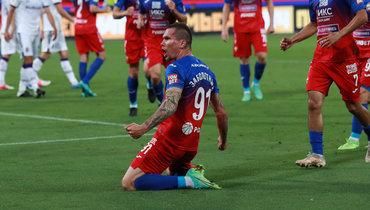 Заболотный забил гол впервом официальном матче заЦСКА после возвращения