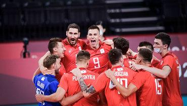 Мужская сборная России вматче группового этапа Олимпиады обыграла США.