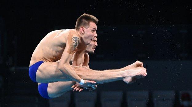 Виктор Минибаев иАлександр Бондарь. Фото AFP