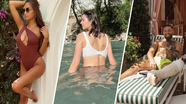 Каролина Севастьянова, Евгения Медведева, Конор Макгрегор. Фото Instagram