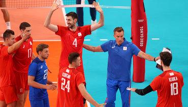 26июля. Россия— США— 3-1. Туомас Саммелвуо ироссийские волейболисты.
