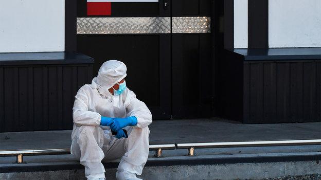 Коронавирус вРоссии. Фото Илья Наймушин, РИА Новости