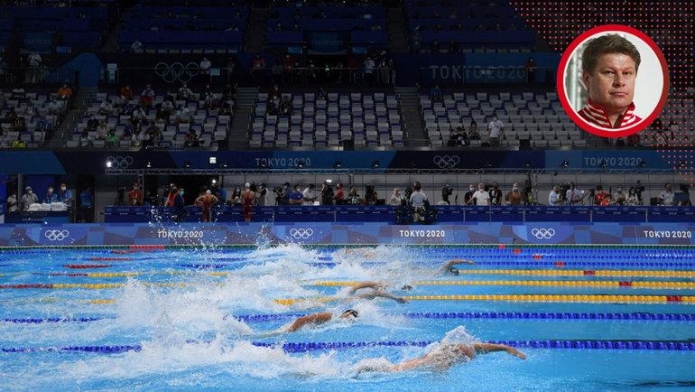 Российские пловцы стали седьмыми вэстафете наОлимпийских играх.