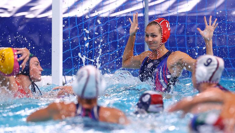 Российская сборная поводному поло сыграла вничью сВенгрией. Фото Reuters
