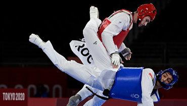 Максим Храмцов выиграл золото Олимпиады всоревнованиях потхэквондо ввесовой категории до80кг