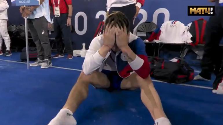 Эмоции российских гимнастов.