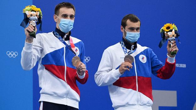 Александр Бондарь иВиктор Минибаев. Фото AFP
