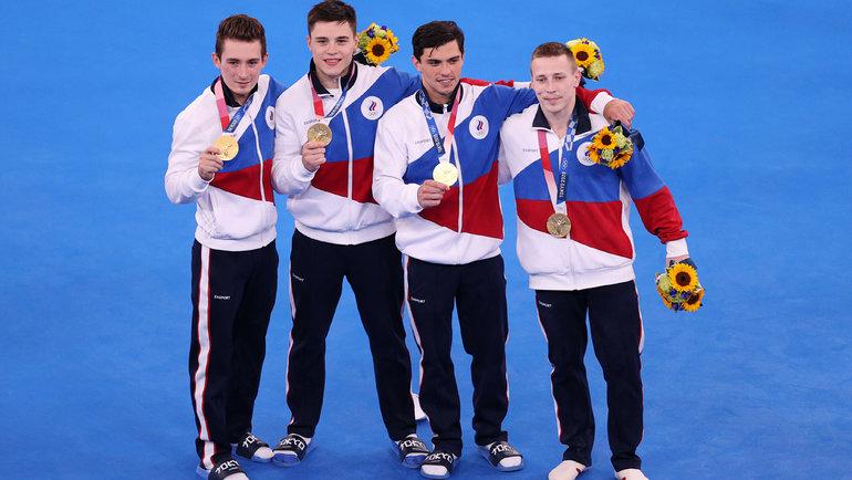 Сборная России поспортивной гимнастике. Фото Getty Images